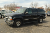 2005 Chevrolet Suburban LT Black 4x4 SUV Sale at Motor City Auto Sales