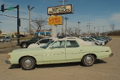 1973 Ford Galaxie 500 Green Sedan Used Car Sale by Sortos used cars Waukegan auto trucker dealer