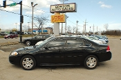 2012 Chevrolet Impala LT Black Flex Fuel Sedan Sale by Sortos used cars Waukegan auto trucker dealer
