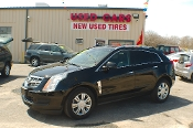 2010 Cadillac SRX Black Wagon Sale at Motor City Auto Sales