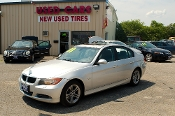 2008 BMW 328xi Gray Sedan Used Car Sale at Motor City Auto Sales