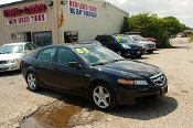 2005 Acura TL Navigation black Sedan Sale at Motor City Auto Sales in Waukegan