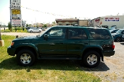 1999 Toyota 4Runner Green 4X4 Limited SUV Sale at Motor City Auto Sales of Waukegan