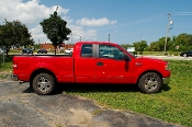 2007 Ford F150 Red 4X2 Pickup Truck Sale at Motor City Auto Sales