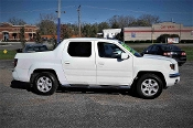 2007 Honda Ridgeline White 4WD Crew Cab Truck sale at Motor City Auto Sales