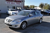2009 Hyundai Genesis Silver Sedan Sale at Motor City Auto Sales of Waukegan