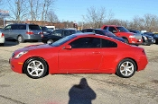 2004 Infiniti G35 Red Coupe Used Car Sale at Motor City Auto Sales
