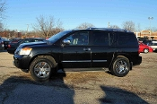 2010 Nissan Armada Black Platinum 4x4 SUV at Motor City Auto Sales