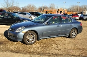 2006 Infiniti G35X Blue Sedan Used Car Sale at Motor City Auto Sales