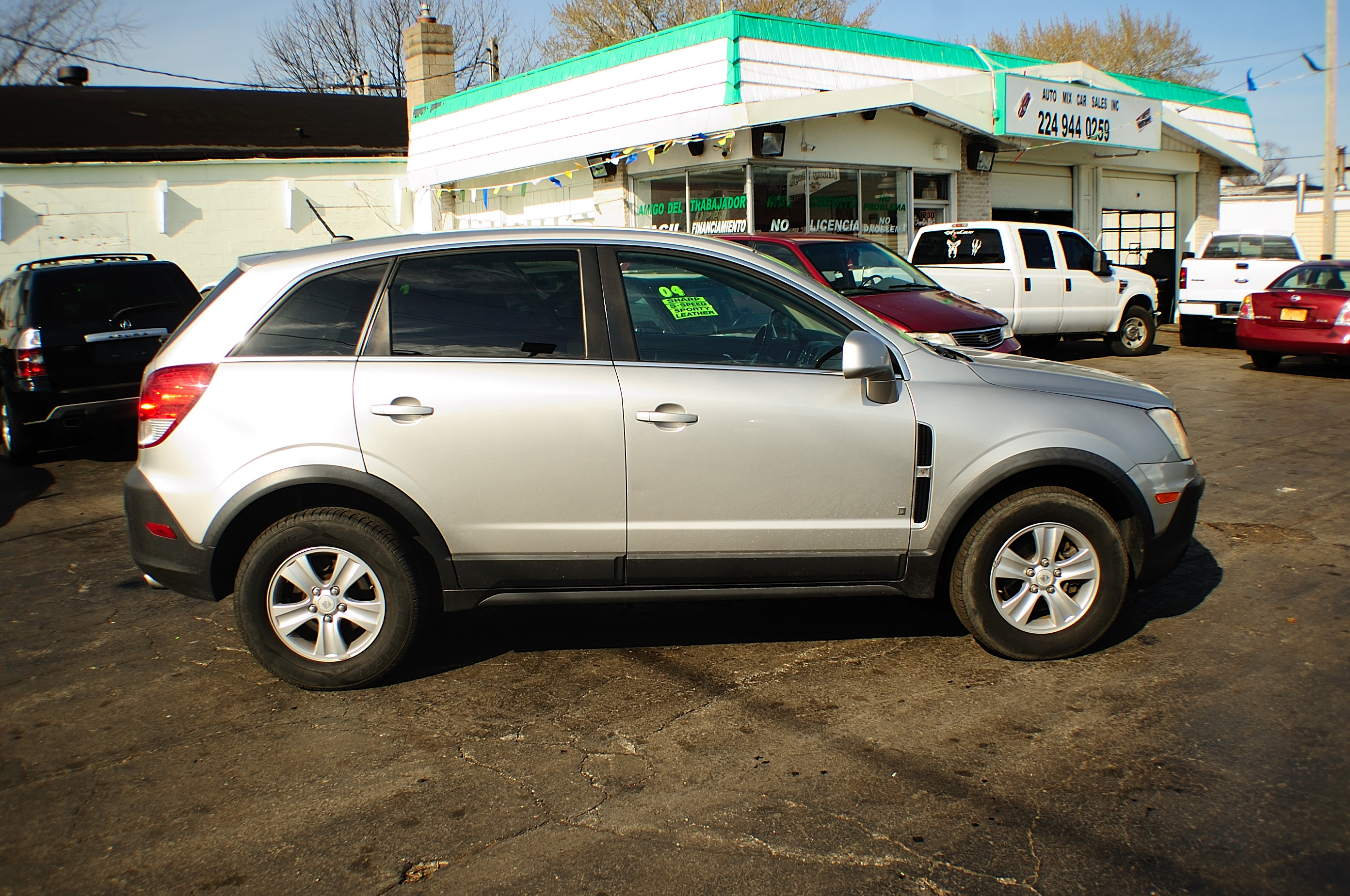 2008 Saturn Vue Xe 4dr Silver Suv Used Car Sale Commercial