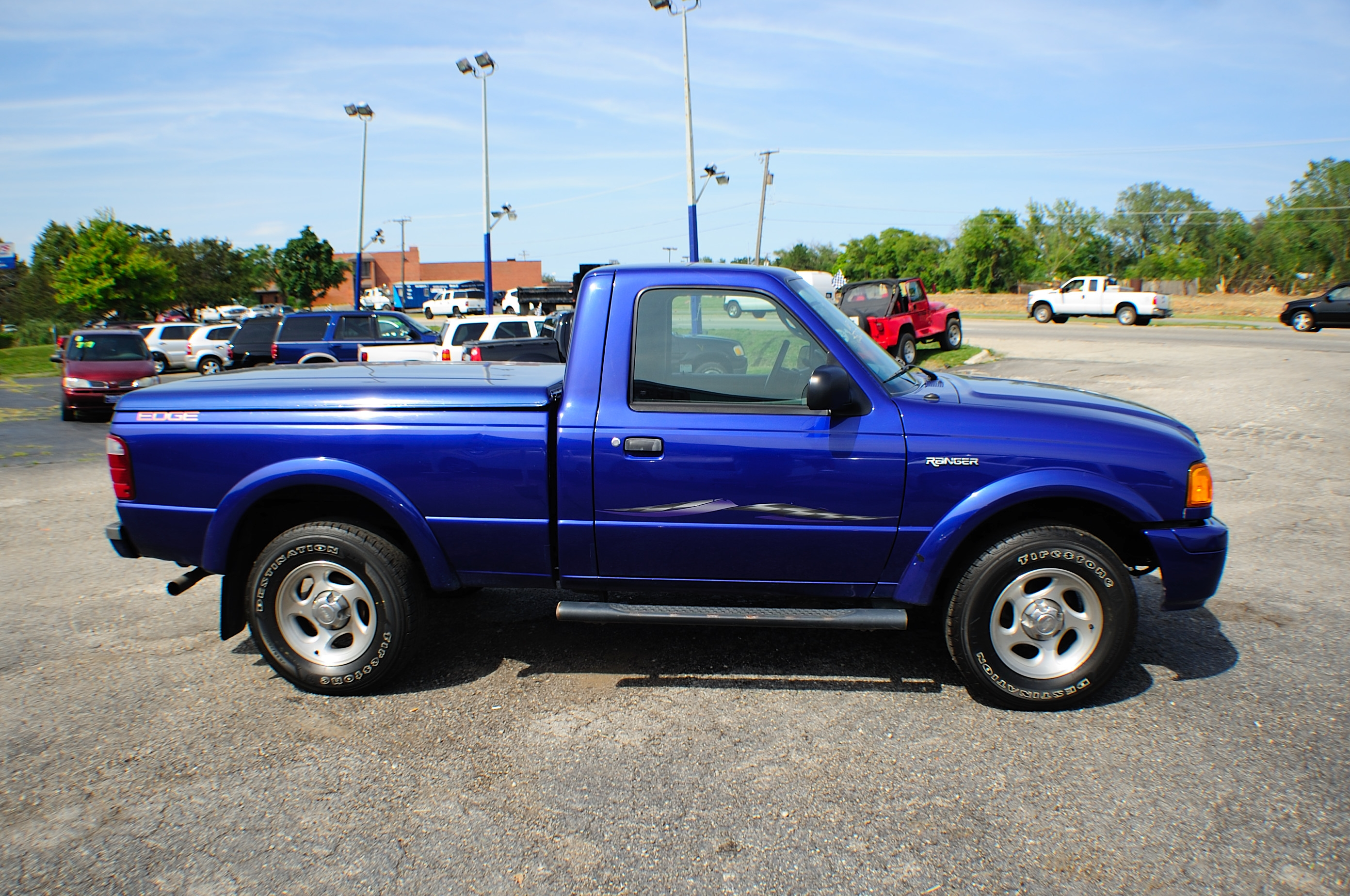 2004 ford ranger edge blue 4x2 sport used truck sale