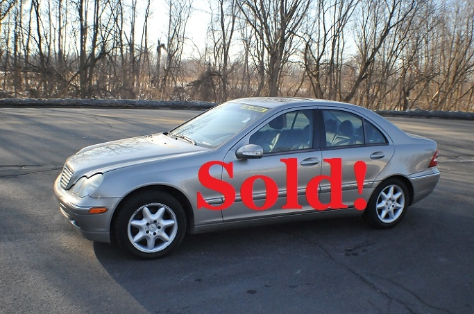 2004 Mercedes C240 4Matic Used Silver Sedan Sale Antioch Zion Waukegan Gurnee