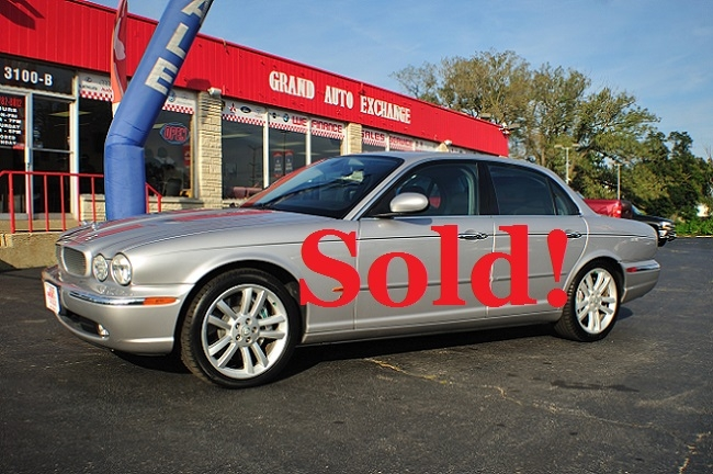 2005 Jaguar XJR Type Silver Sport Sedan Used Car Sale Antioch Zion Waukegan