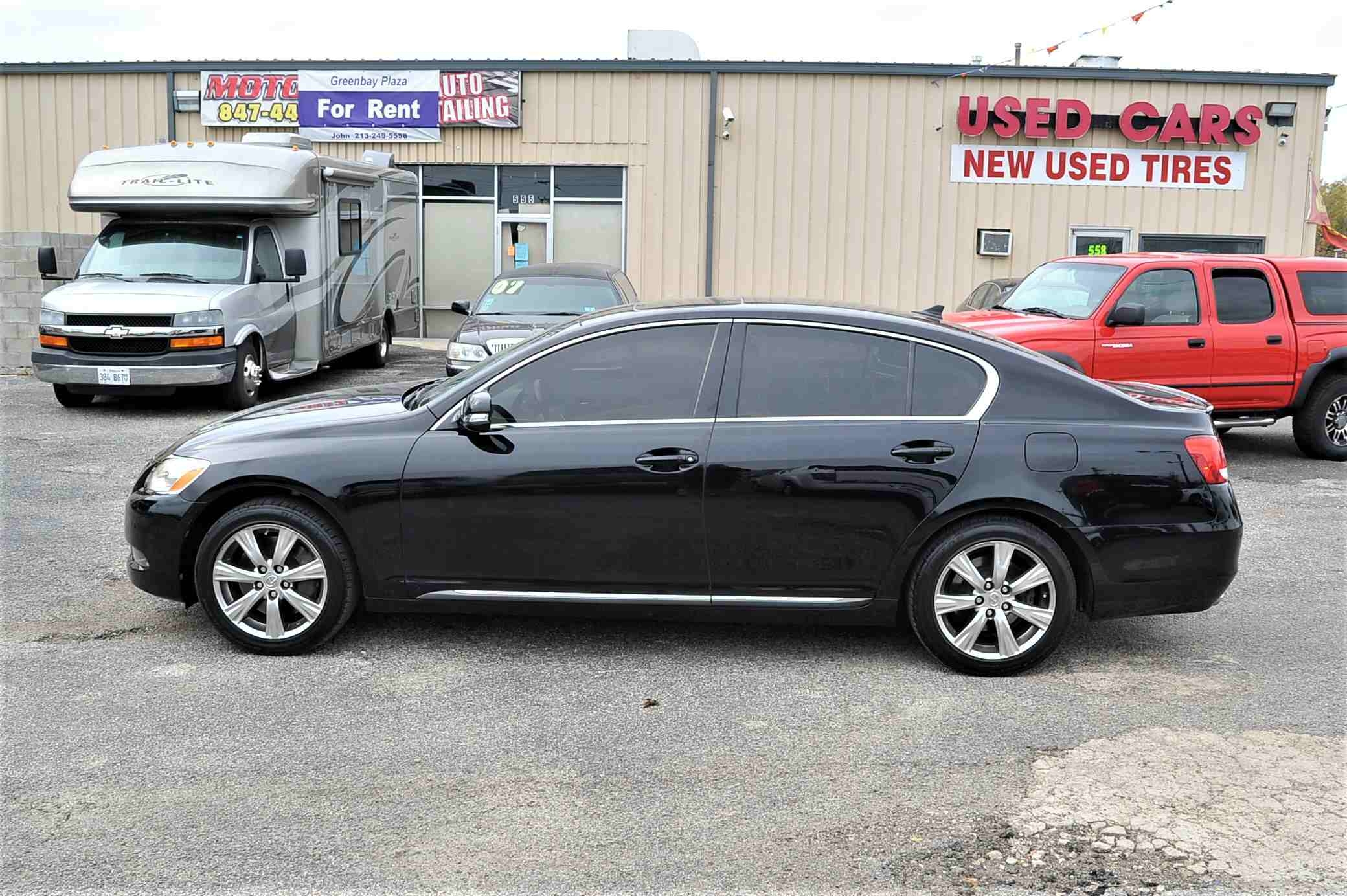 2008 Lexus GS350 Navigation Black AWD Sedan Sale Bannockburn Barrington Beach Park