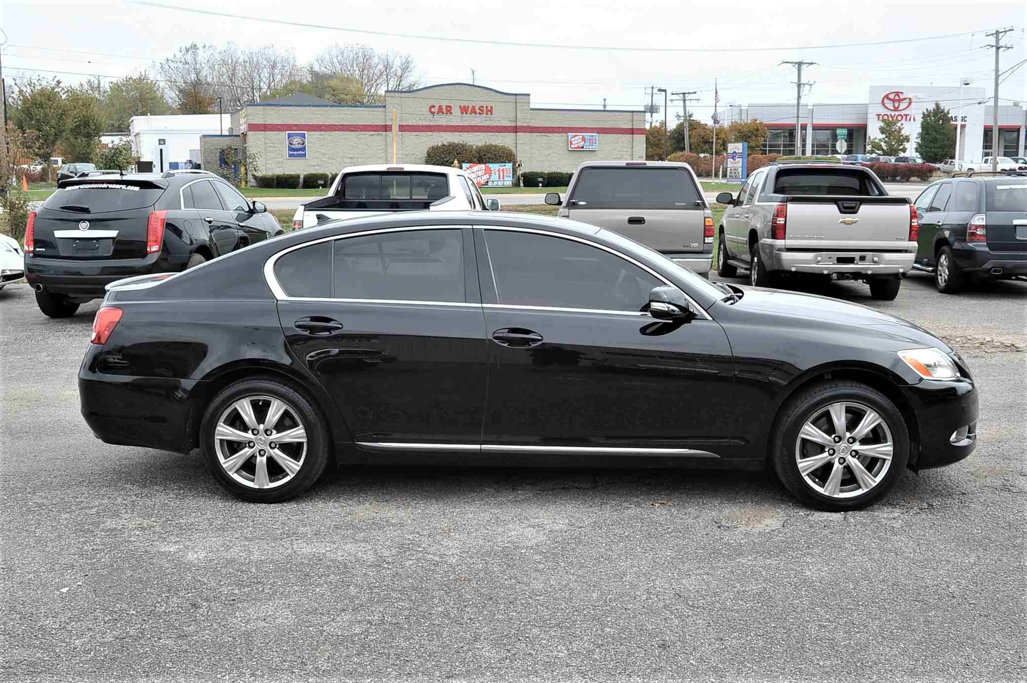 2008 Lexus GS350 Navigation Black AWD Sedan Sale Buffalo Grove Deerfield Fox Lake Antioch