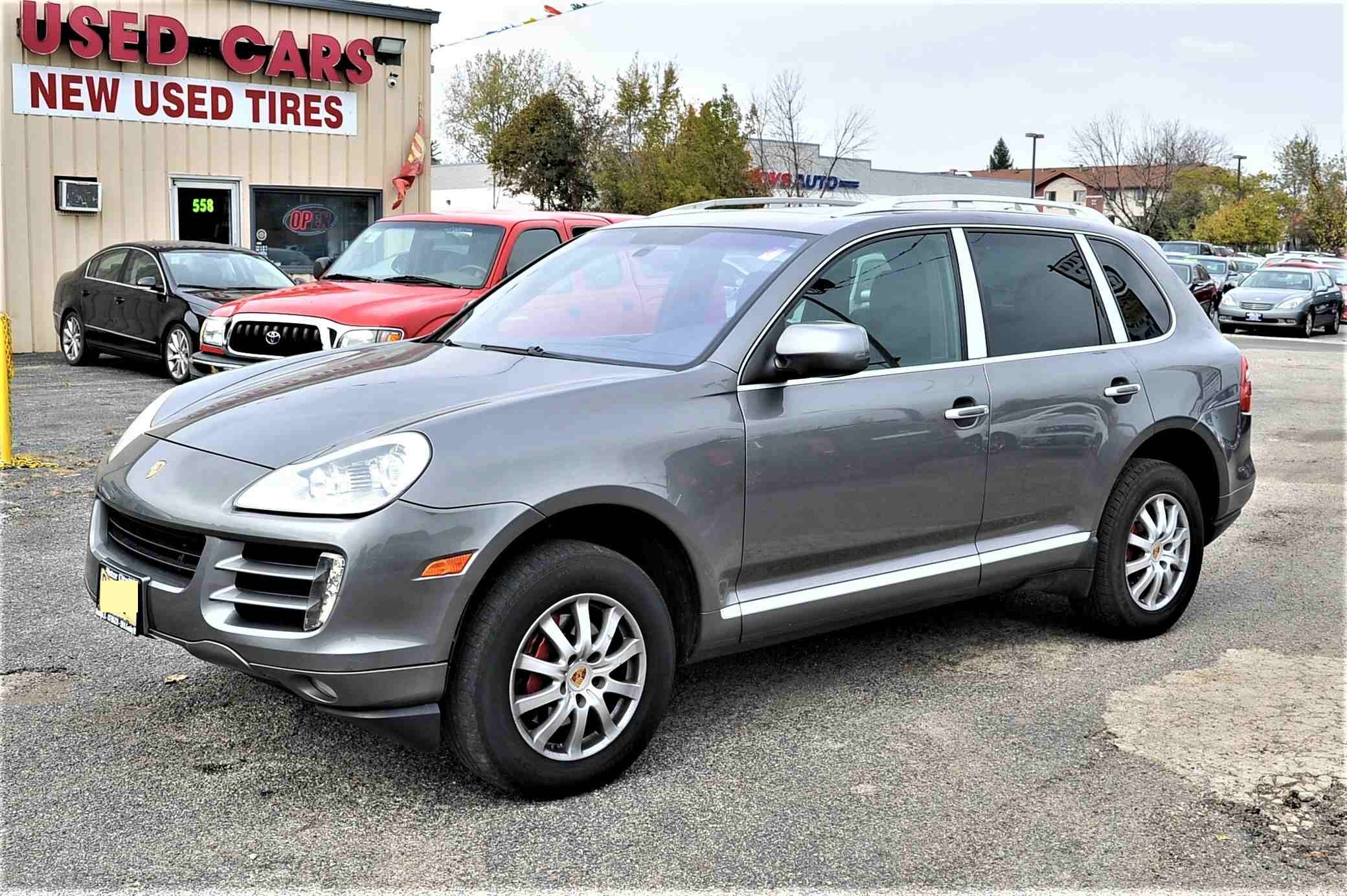 2009 Porsche Cayenne Gray Used SUV Sale Antioch Zion Waukegan Lake County Illinois