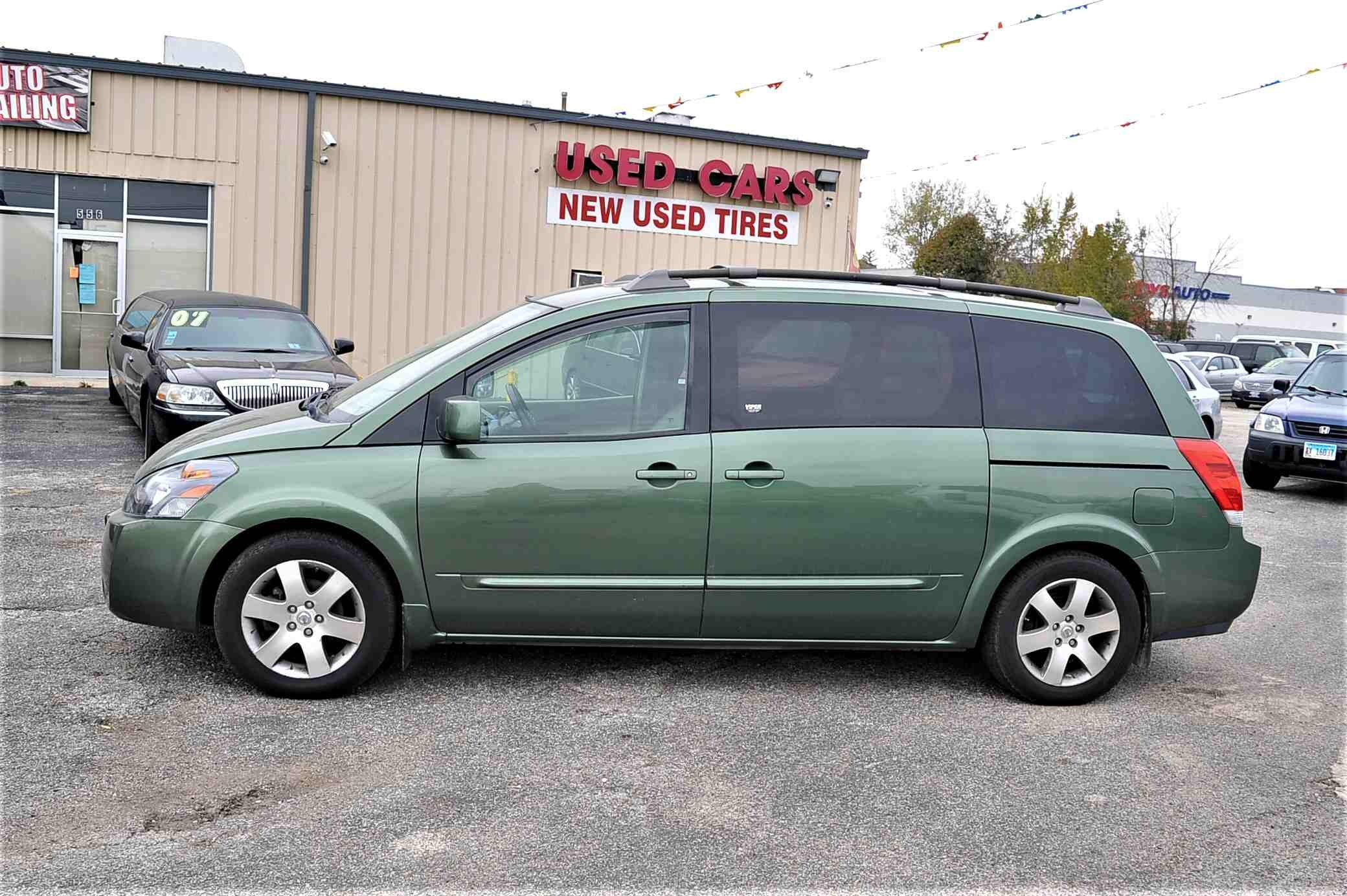 2004 Nissan Quest SE Green Used Minivan Sale Buffalo Grove Deerfield Fox Lake Antioch