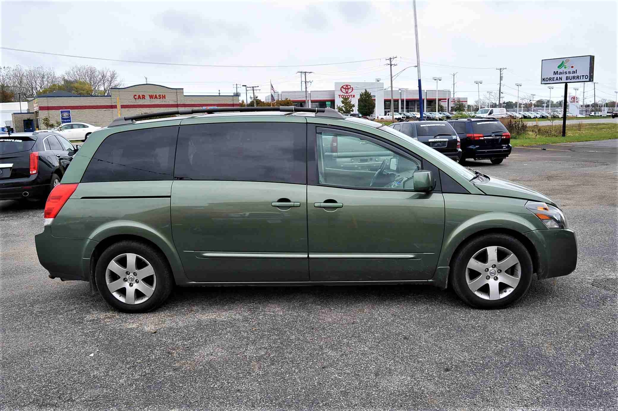 2004 Nissan Quest SE Green Used Minivan Sale Bannockburn Barrington Beach Park