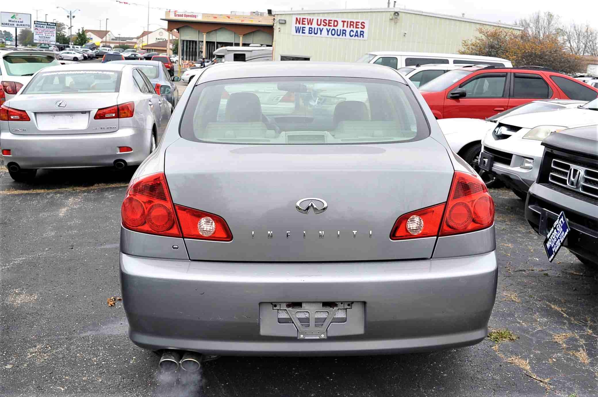 2006 Infiniti G35X Gray Sedan Used Car Sale Fox River Grove Grayslake Volo Waucanda