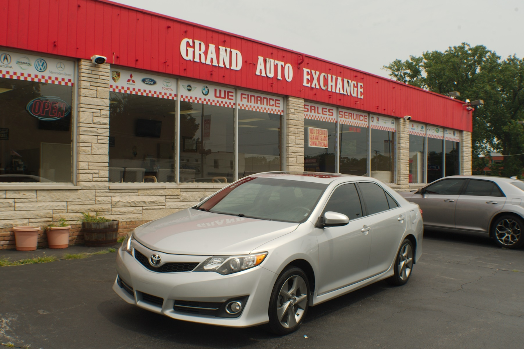 2012 Toyota Camry SE Silver Sedan used Car Sale Antioch Zion Waukegan Lake County Illinois