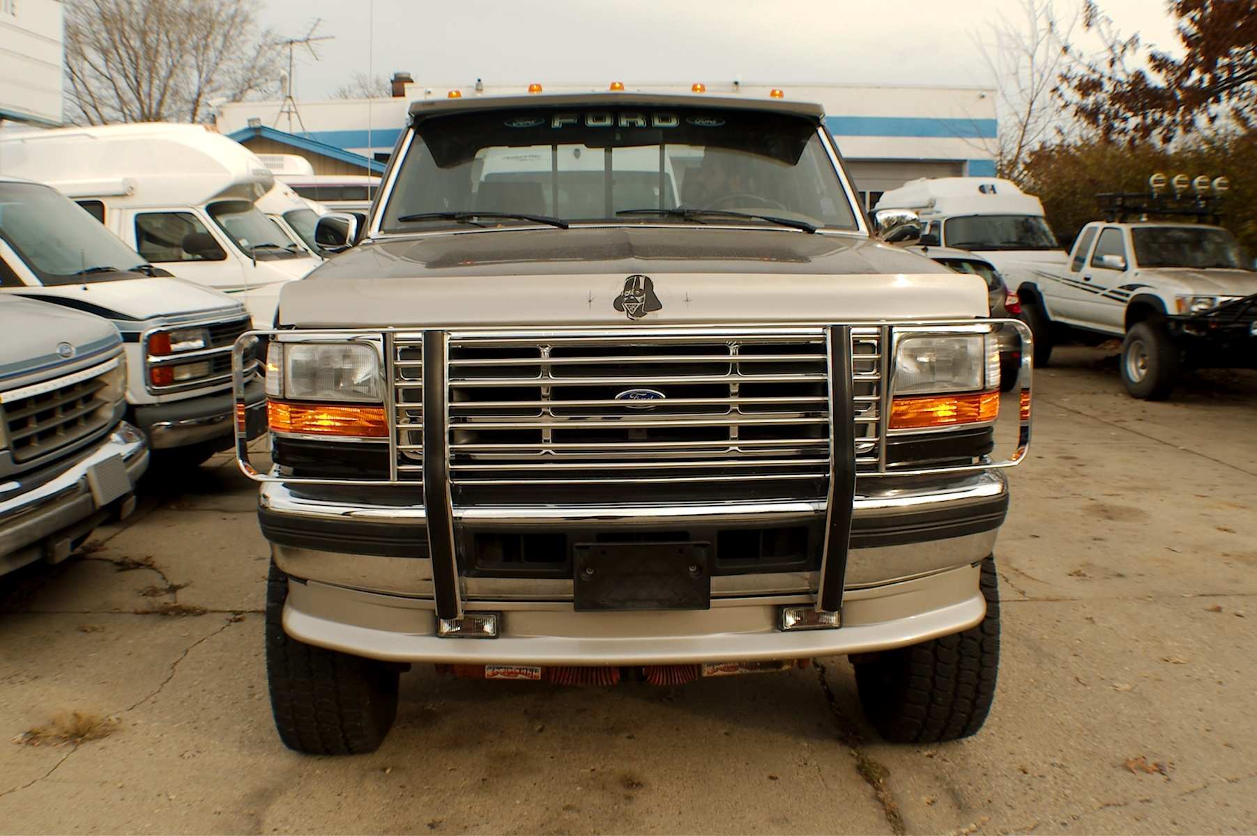 1994 Ford F350 Diesel Black 4x4 Custom Crew Cab Truck Sale Gurnee Kenosha Mchenry Chicago Illinois