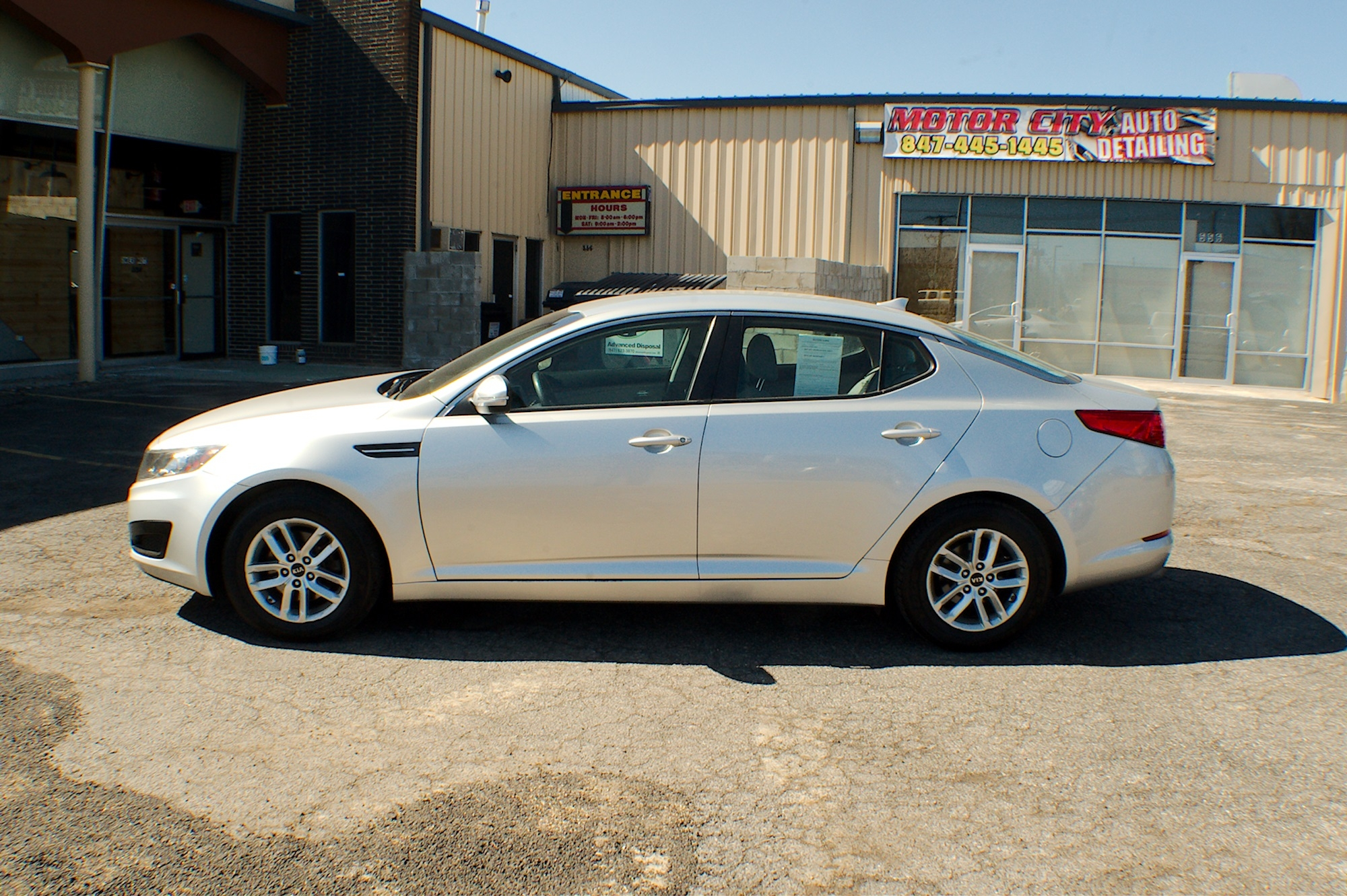 2011 Kia Optima GDI Silver Sedan Used Car Sale Buffalo Grove Deerfield Fox Lake Antioch