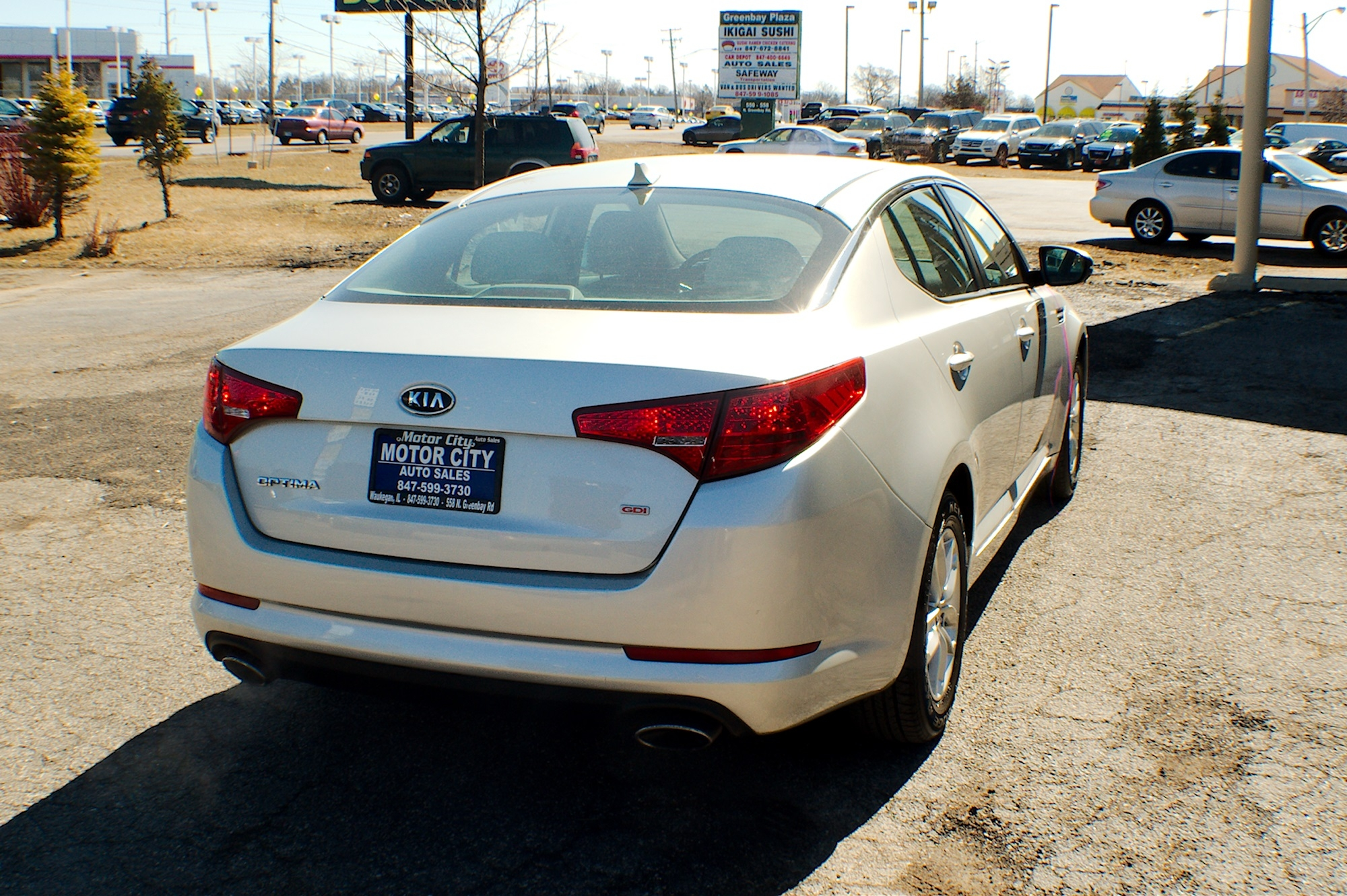 2011 Kia Optima GDI Silver Sedan Used Car Sale Fox River Grove Grayslake Volo Waucanda