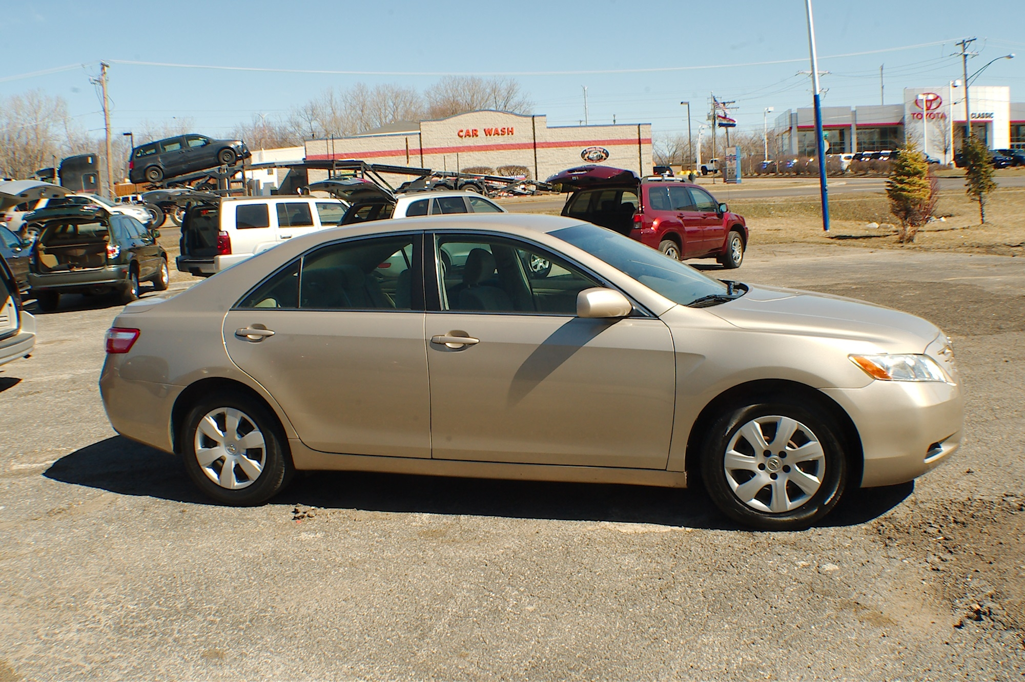 2007 Toyota Camry LE Beige Sedan Used Car Sale Bannockburn Barrington Beach Park