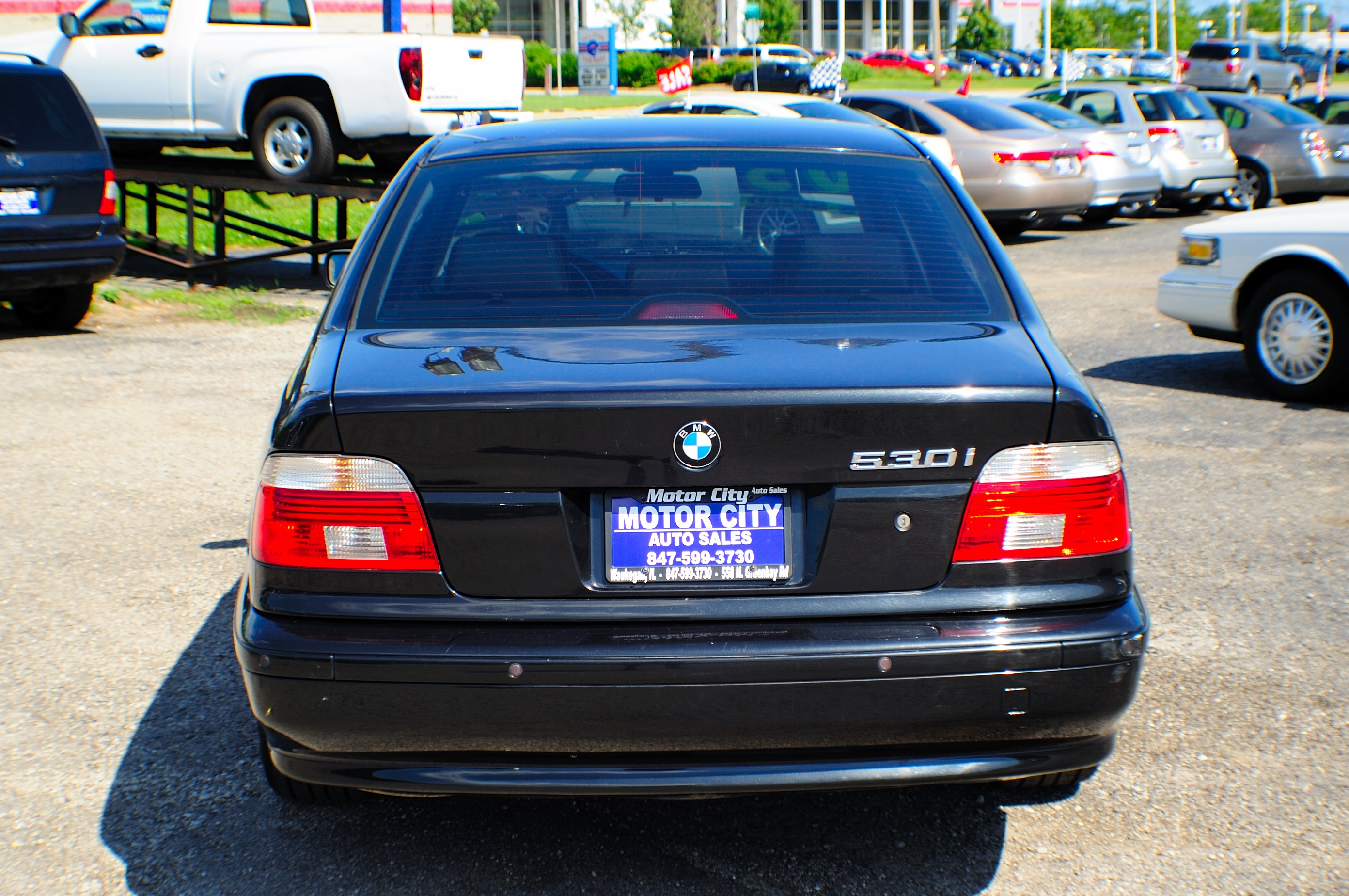 2003 BMW 530i 5 Series Black M5 Manual Sedan Used Car Sale Waukegan Kenosha