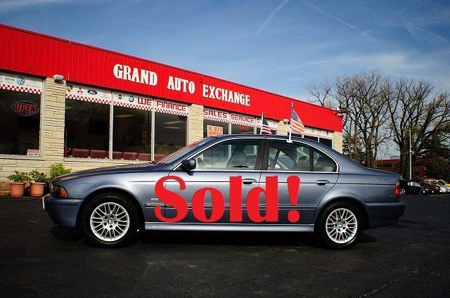 2003 BMW 530i Blue Used Sport Sedan Sale Antioch Zion Waukegan