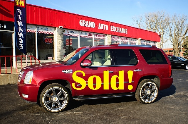 2007 Cadillac Escalade Red 4x4 Used SUV Sale Antioch Zion Waukegan
