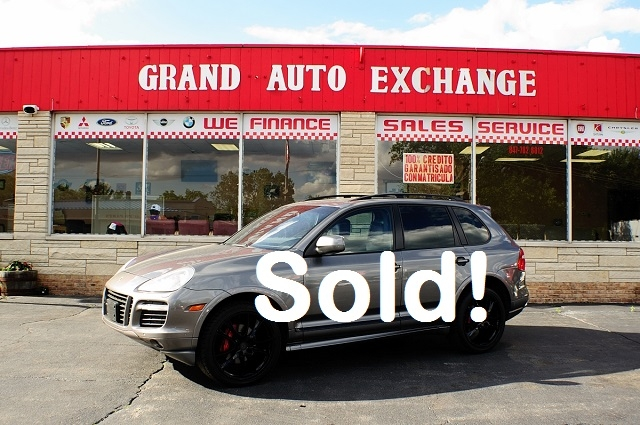 2008 Porsche Cayenne GTS Sand Used Luxury 4x4 SUV Sale Antioch Zion Waukegan Lake County Illinois