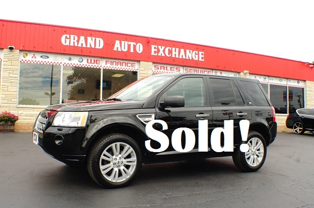 2009 Land Rover Range Rover Black LR2 AWD SUV sale Antioch Zion Waukegan Lake County Illinois