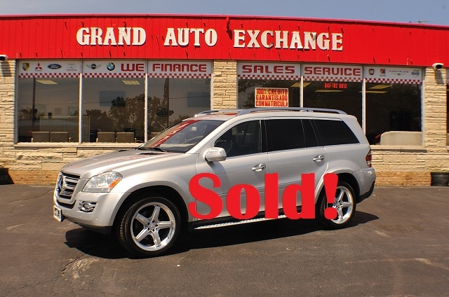 2009 Mercedes Benz GL550 4Matic Silver SUV Used Car Sale Antioch Zion Waukegan Lake County Illinois