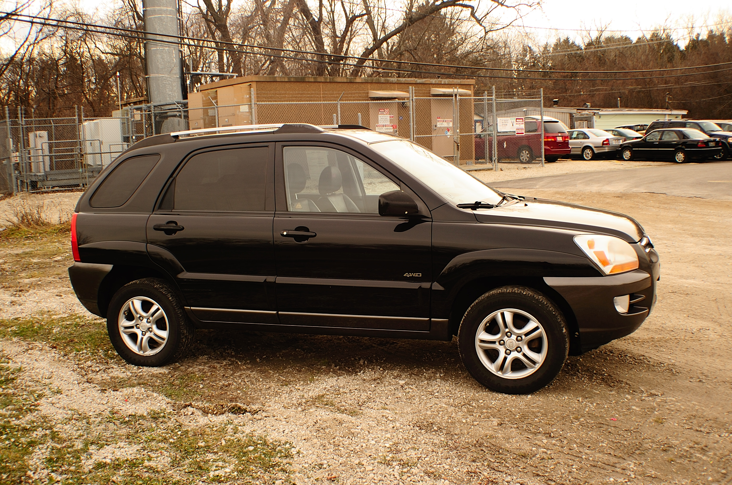 2005 kia sportage black ex 4x4 used suv sale. Black Bedroom Furniture Sets. Home Design Ideas
