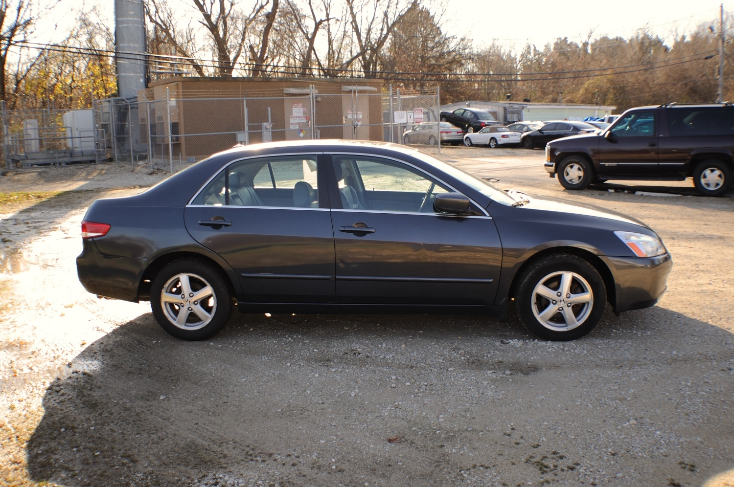 2004 Honda Accord EX Gray Sedan Used Car Sale