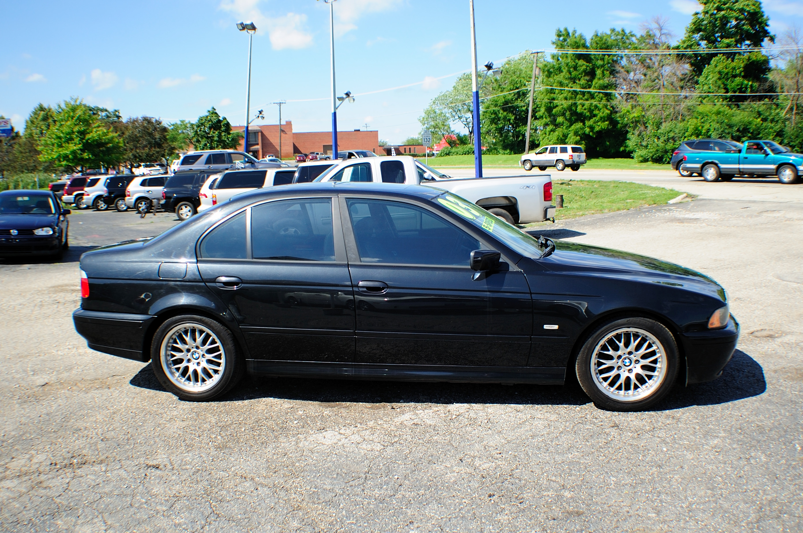 2003 bmw 530i 5 series black m5 manual sedan used car sale Motor city car sales