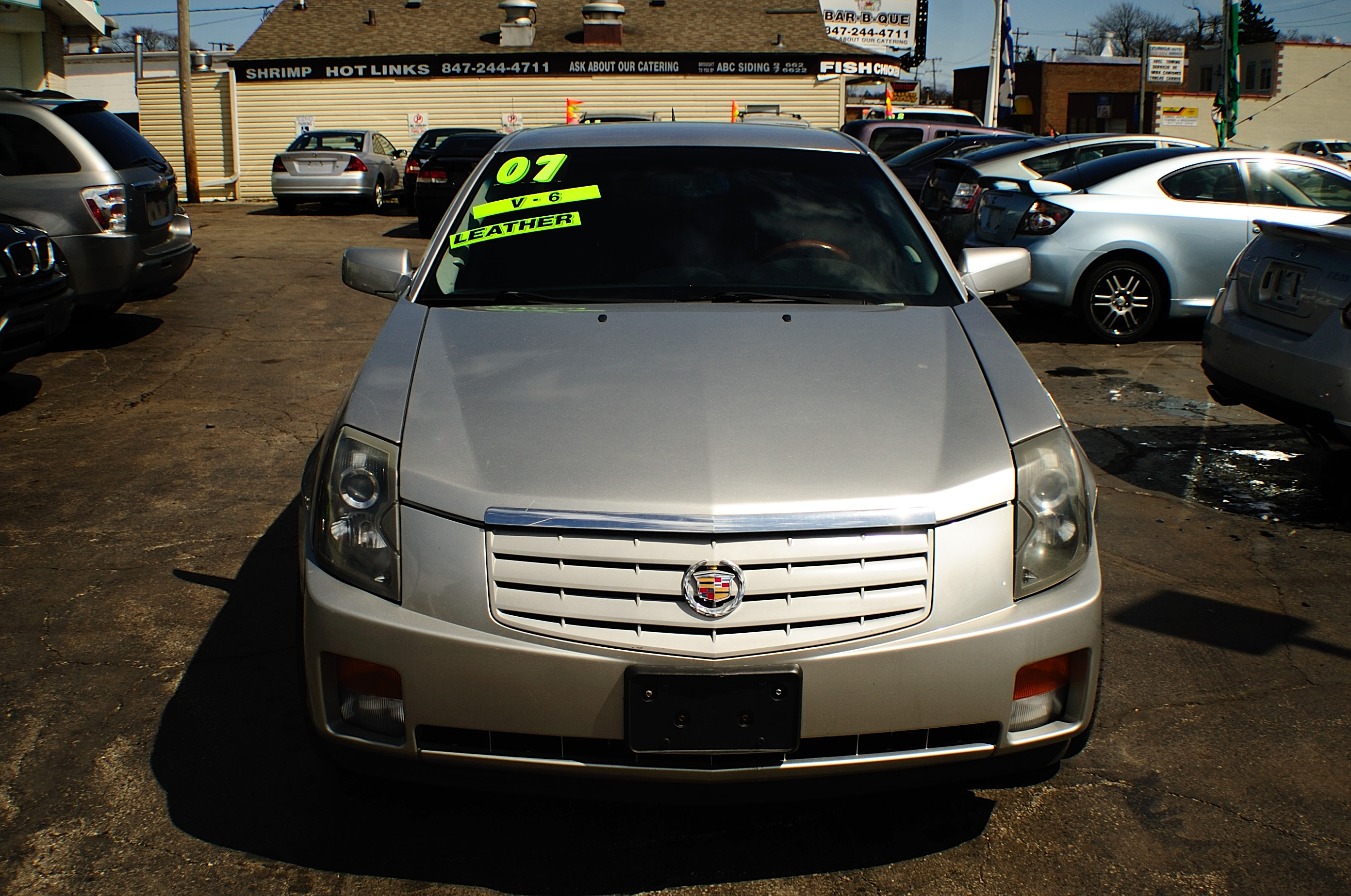 parts used cadillac stock cts