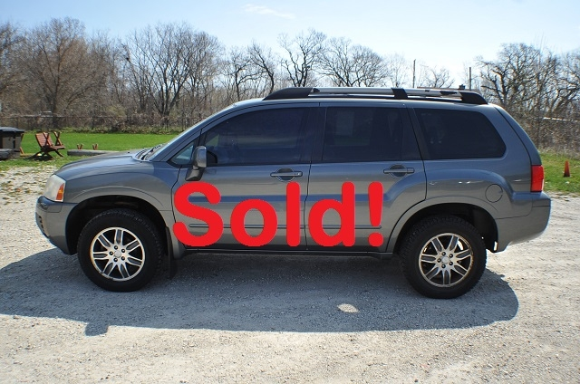 2004 Mitsubishi Endeavor Gray Used Truck SUV AWD Sale Antioch Zion Waukegan Gurnee
