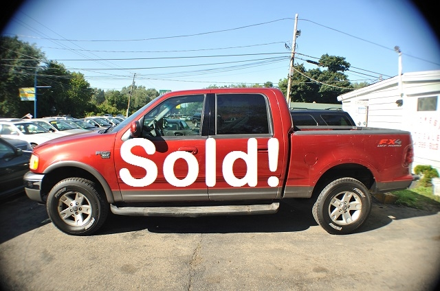 2002 Ford F150 XLT Red 4Dr 4x4 Used Pickup Truck Sale Antioch Zion Waukegan