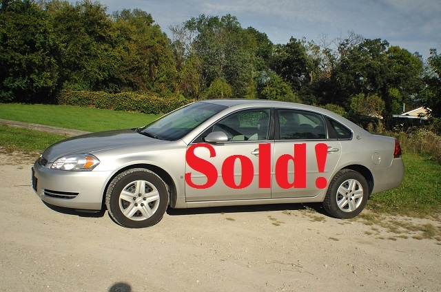 2007 Chevrolet Impala LS Silver Sedan Used Car Sale Antioch Zion Waukegan