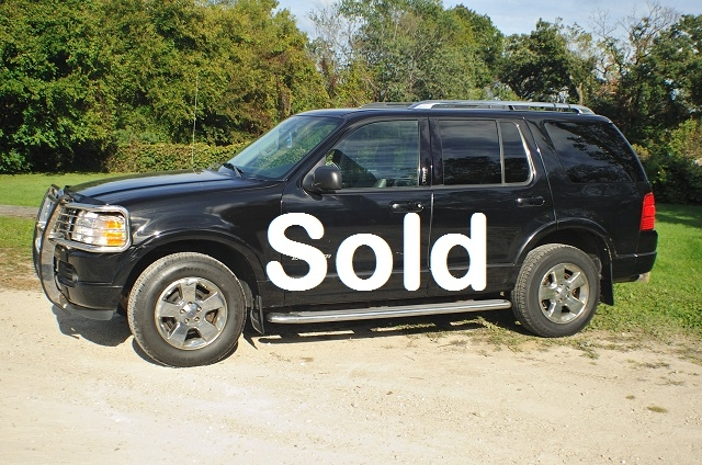 2004 Ford Explorer XLT Black Limited Used SUV 4x4 Sale Antioch Zion Waukegan