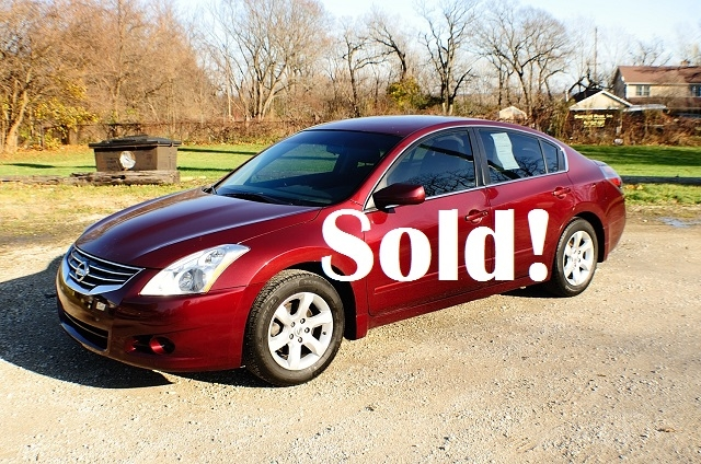 2010 Nissan Altima S Red Used Car Sedan Sale Antioch Zion Waukegan Lake County Illinois