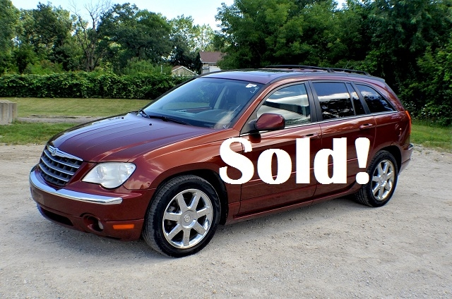 2007 Chrysler Pacifica Bronze Limited SUV Sale Antioch Zion Waukegan Lake County Illinois