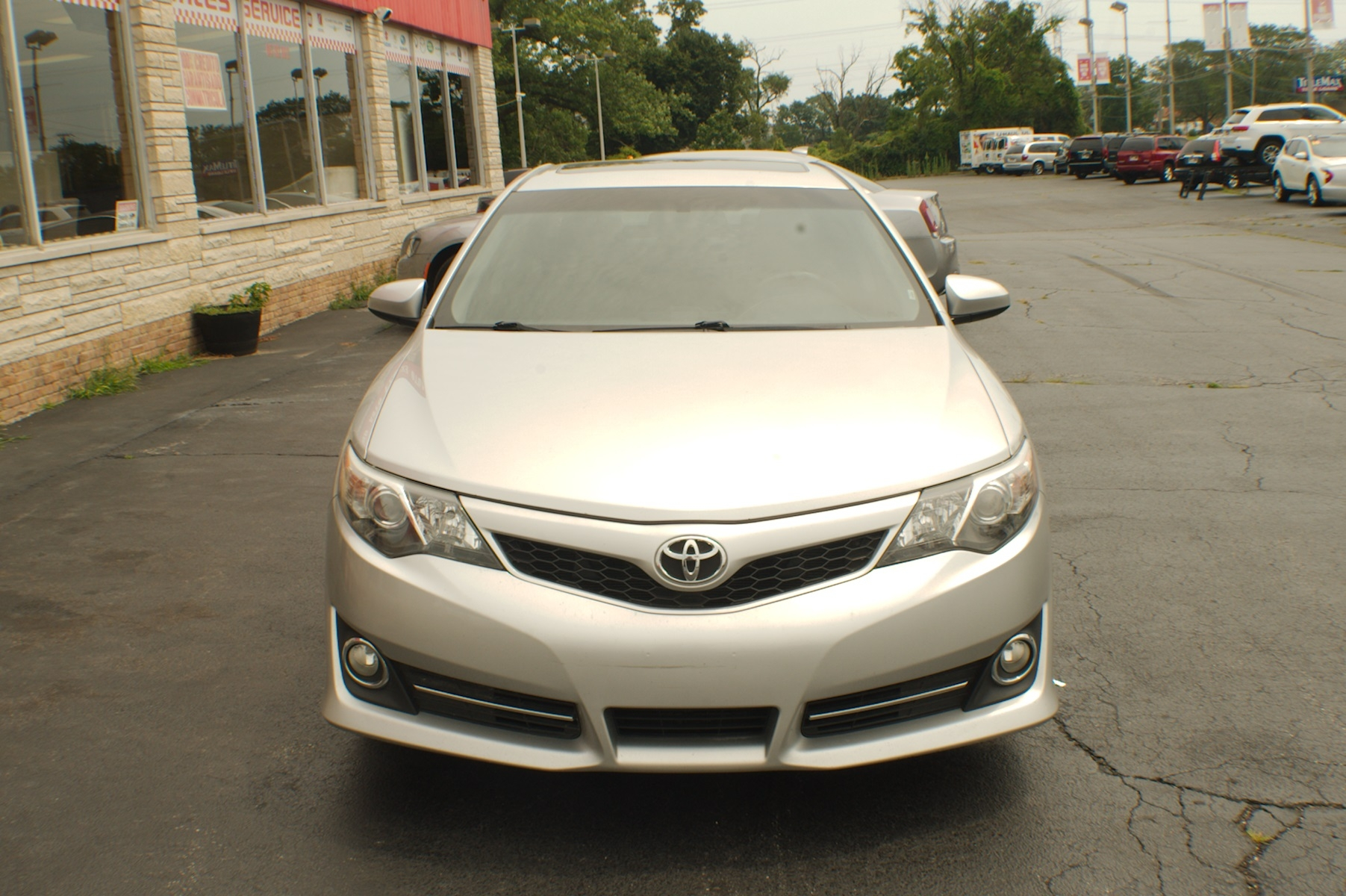 2012 Toyota Camry SE Silver Sedan used Car Sale Gurnee Kenosha Mchenry Chicago Illinois
