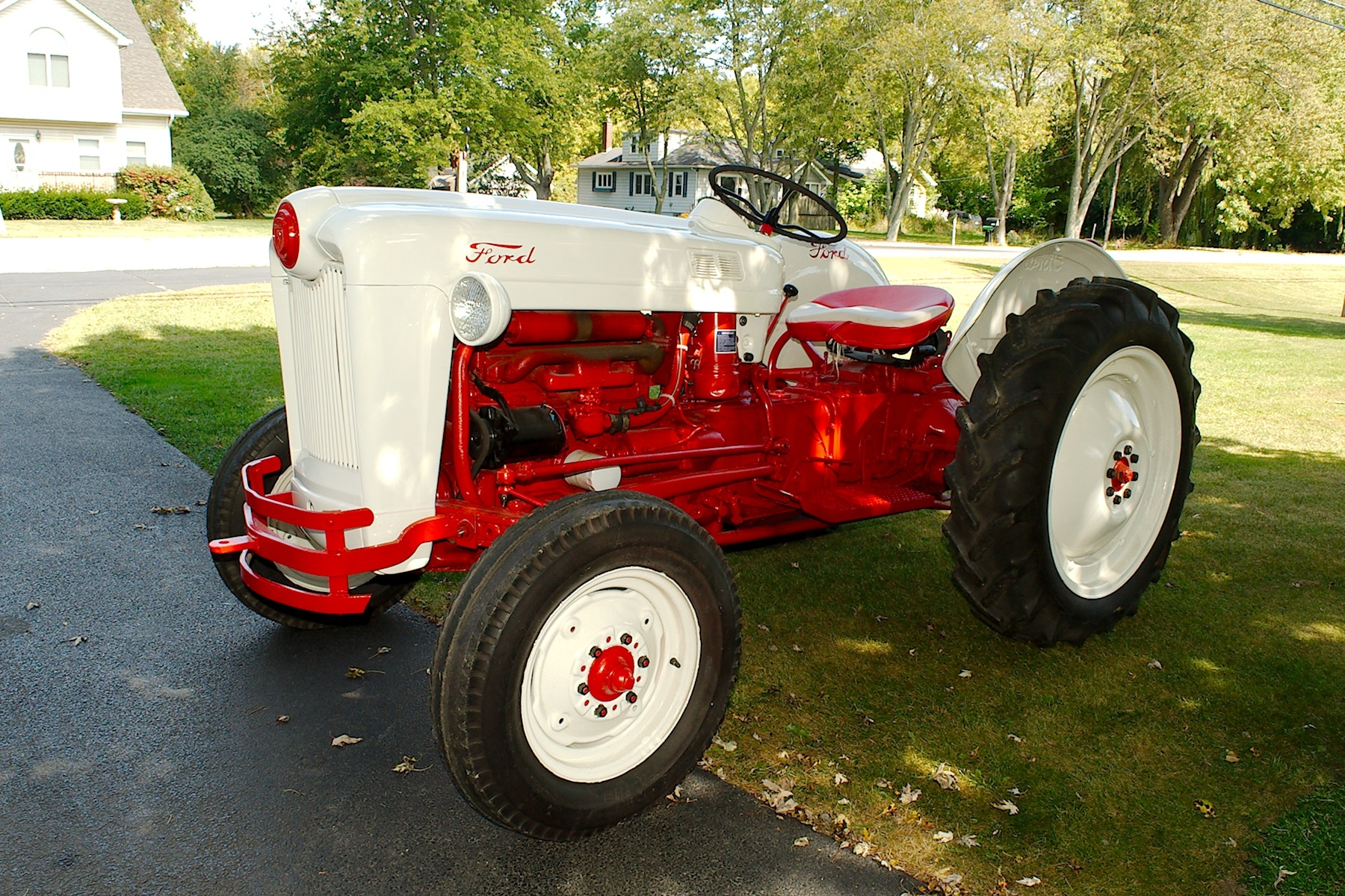 1953 Ford Golden Jubilee Antique Collectible Farm Tractor sale Fox River Grove Grayslake Volo Waucanda