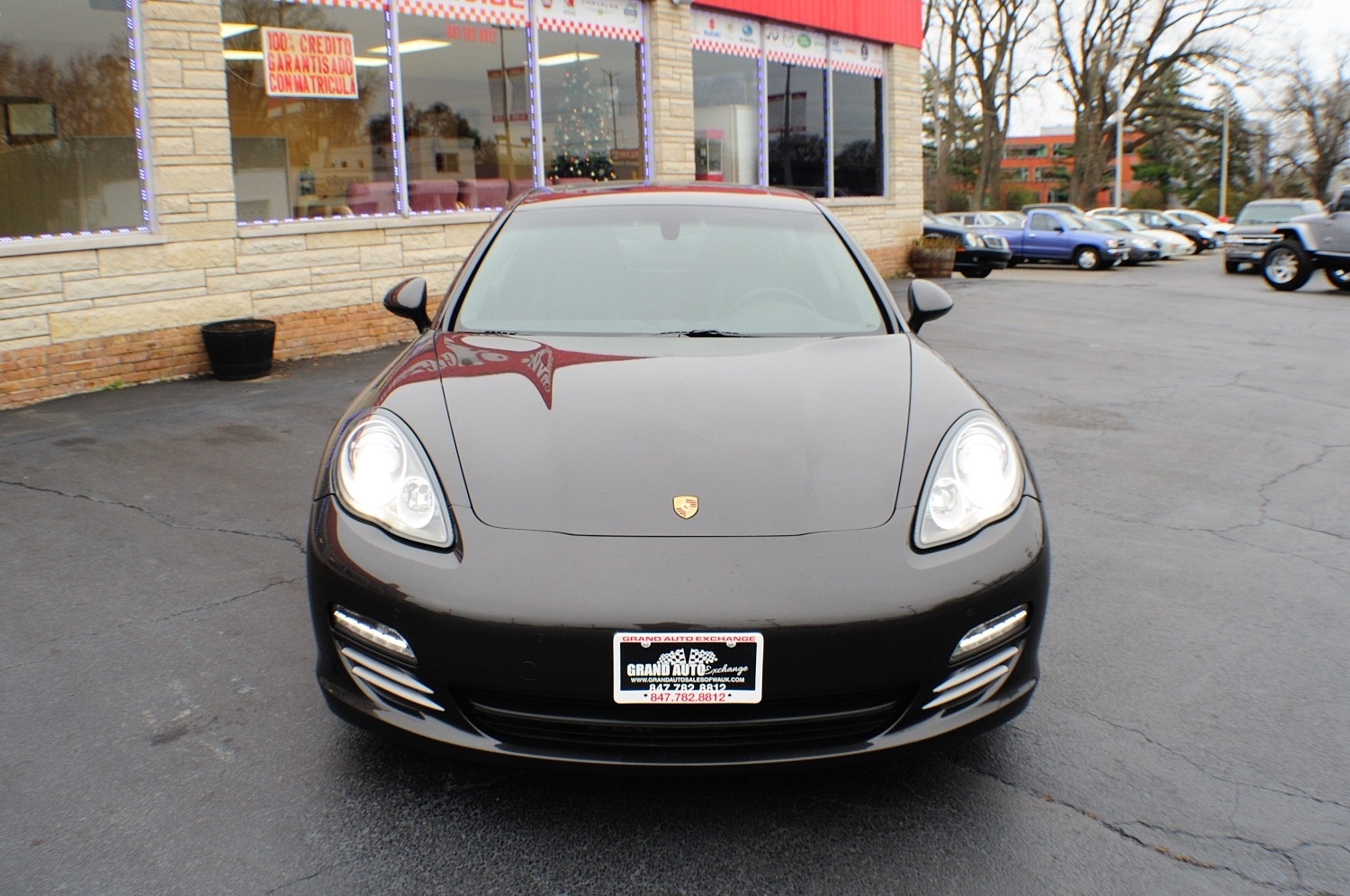 2011 Porsche Panamera Gray Sports Car used car sale Gurnee Kenosha Mchenry Chicago Illinois