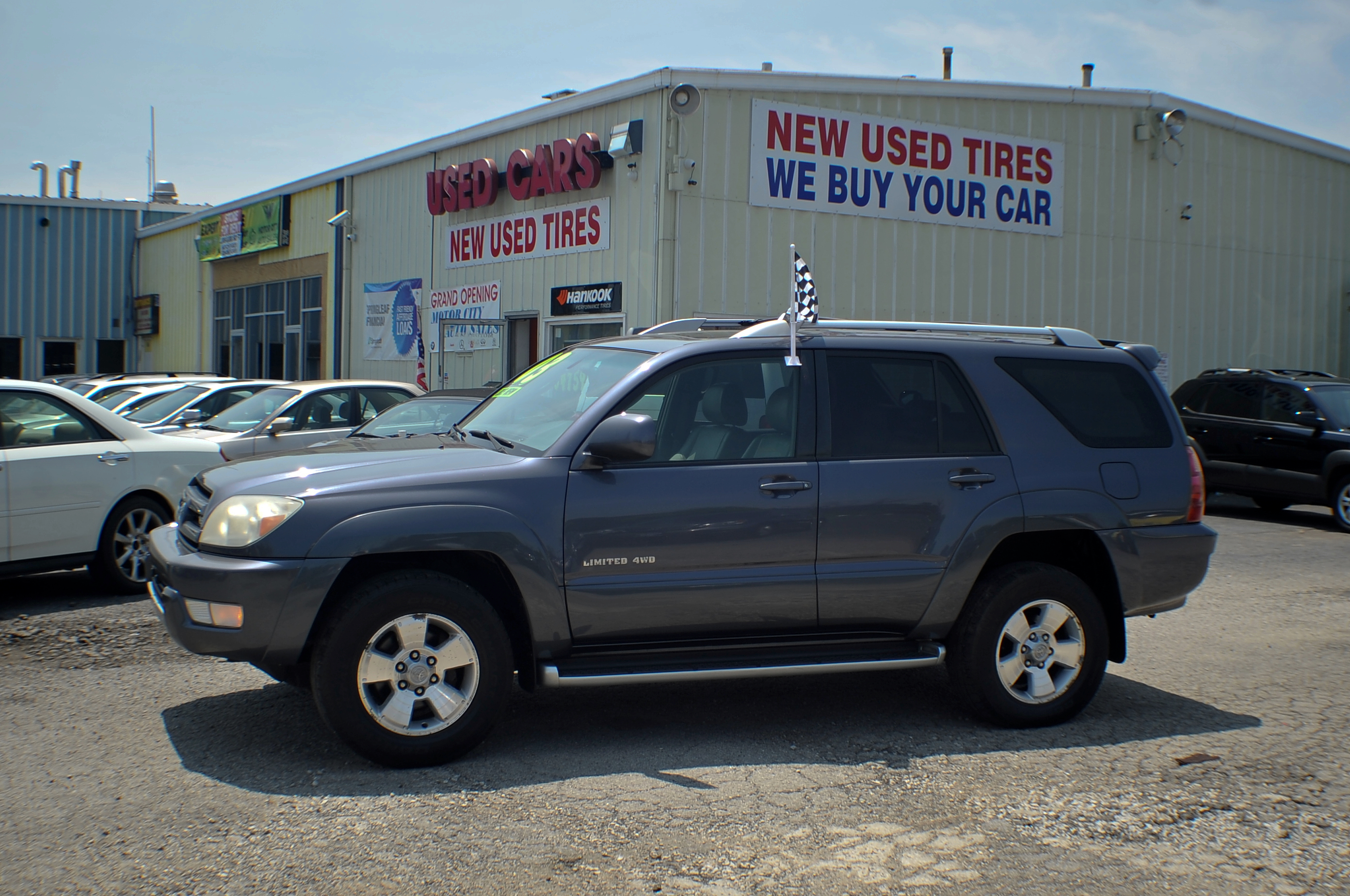 2003 Toyota 4Runner Gray 4x4 SUV Used Car Sale Antioch Grayslake