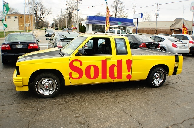 1985 Chevrolet S10 Super Bee Yellow Ext Cab sale Antioch Zion Waukegan