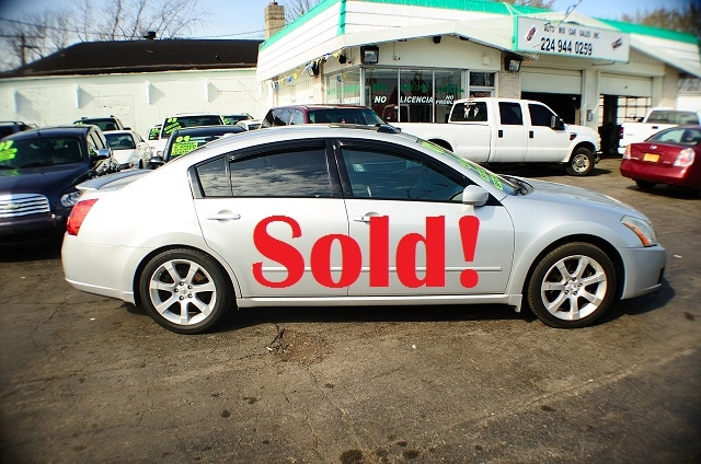 2007 Nissan Maxima SE 4Dr Silver Sedan used car Antioch Zion Waukegan